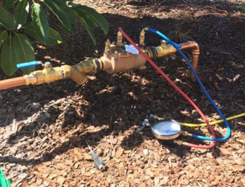 Get Your Backflow Devices Tested!
