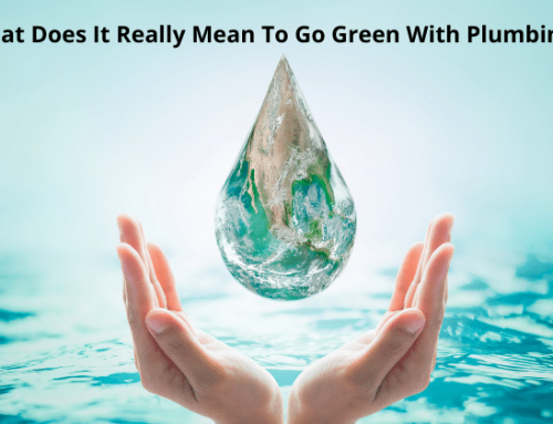 What Does It Mean To Go Green With Plumbing?