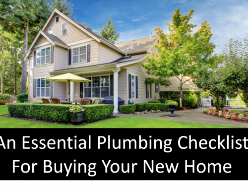 Plumbing Checklist When Buying A Home