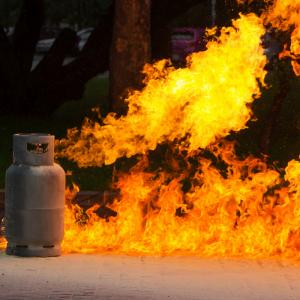 danger of a gas leak